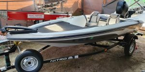 NITRO 640 LX Bass Boat Speedboot